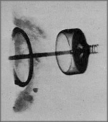 X-ray of artifact